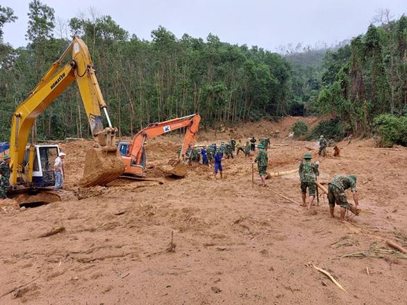 Đã tìm thấy 13 thi thể chiến sĩ, cán bộ hi sinh khi cứu nạn thủy điện Rào Trăng 3 - Ảnh 7.