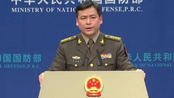 Trung Quốc lên tiếng vụ tàu khu trục Mỹ qua eo biển Đài Loan - Ảnh 1.