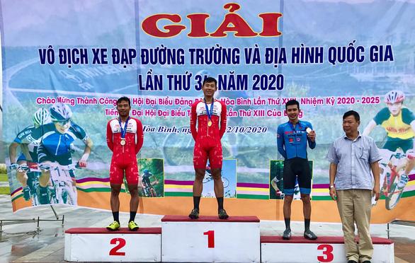 Nguyễn Tuấn Vũ giành huy chương vàng cho xe đạp TP.HCM - Ảnh 1.