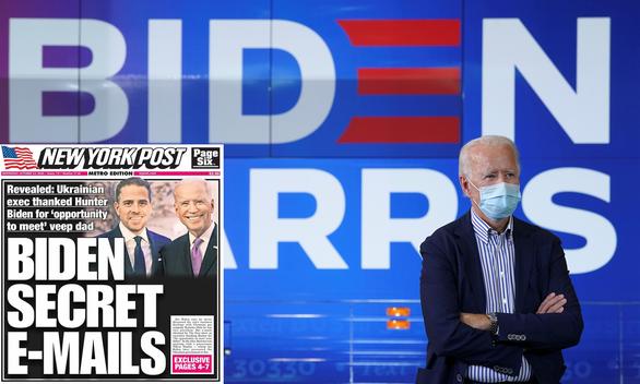 New York Post khui bê bối của nhà Biden - Ảnh 1.