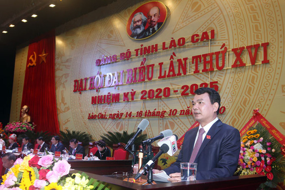 Tiến sĩ kinh tế 7X làm bí thư Tỉnh ủy Lào Cai - Ảnh 1.