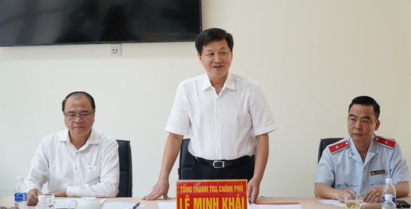 Tổng thanh tra Lê Minh Khái: Phải thực hiện tốt việc tiếp dân hằng ngày - Ảnh 1.