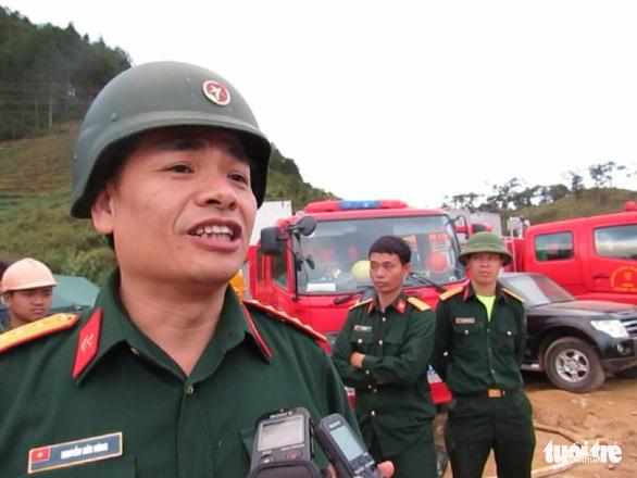 Nhớ nụ cười người chỉ huy giải cứu vụ sập hầm Đạ Dâng - Ảnh 1.
