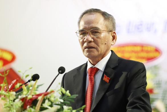 Ông Lữ Văn Hùng tái đắc cử bí thư Tỉnh ủy Bạc Liêu - Ảnh 1.