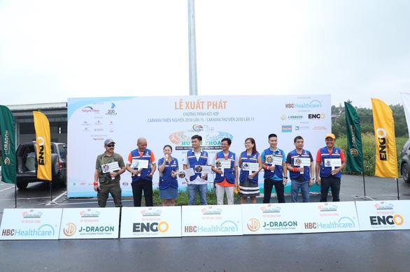 Đoàn Caravan CLB Doanh nhân 2030 đến với huyện Phù Cát, tỉnh Bình Định - Ảnh 1.