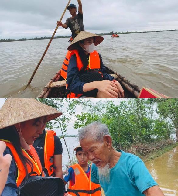 Thủy Tiên đi Huế, Quảng Trị, Mỹ Tâm về Quảng Nam, Trấn Thành 1 ngày quyên được 3,2 tỉ - Ảnh 2.