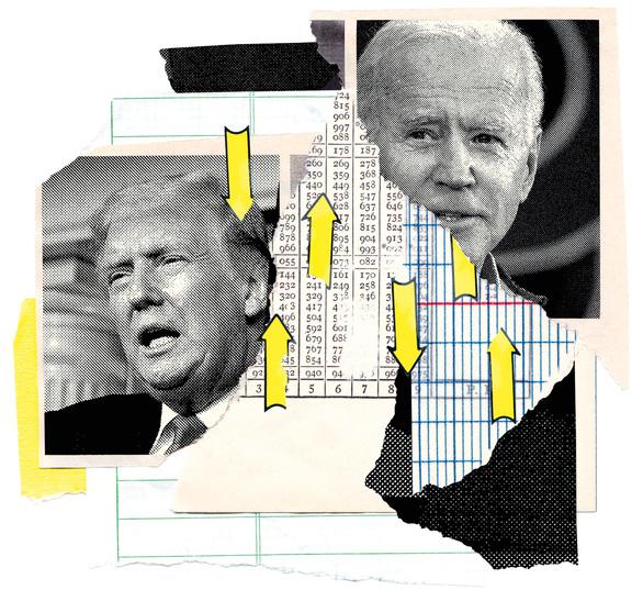 Chính sách kinh tế trong bầu cử Mỹ: Tuy hai mà một - Ảnh 1.