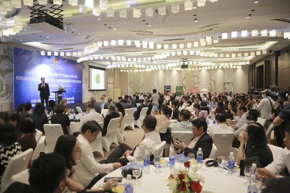 TS Nguyễn Cao Trí đề xuất giải pháp đào tạo trong kỷ nguyên số tại Diễn đàn hợp tác đầu tư giáo dục - Ảnh 1.