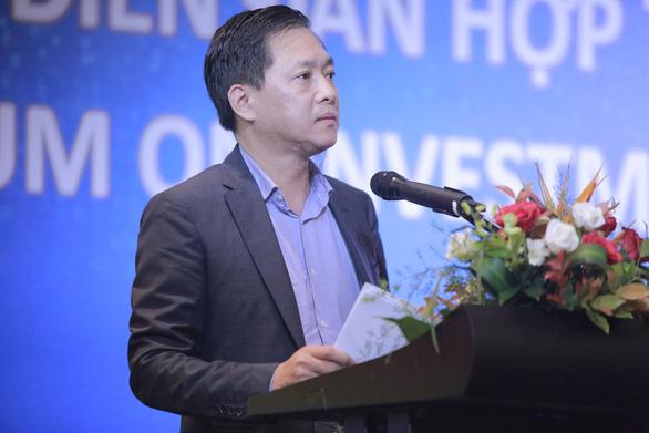 TS Nguyễn Cao Trí đề xuất giải pháp đào tạo trong kỷ nguyên số tại Diễn đàn hợp tác đầu tư giáo dục - Ảnh 3.