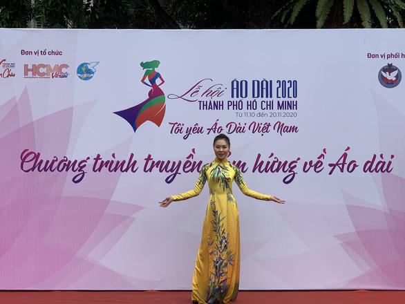 Nghệ sĩ Phi Điểu, Quỳnh Hoa lan tỏa tình yêu áo dài tại các điểm du lịch nổi tiếng - Ảnh 5.