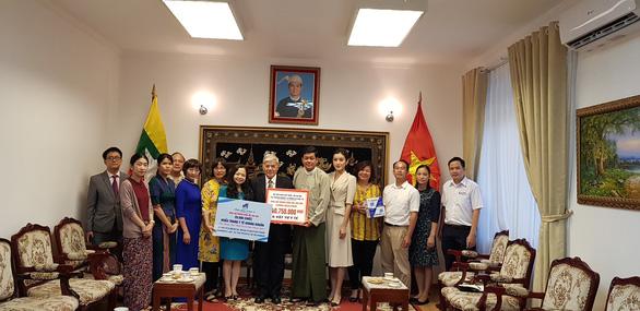 Đại sứ Myanmar muốn học tập kinh nghiệm chống COVID-19 của Việt Nam - Ảnh 1.