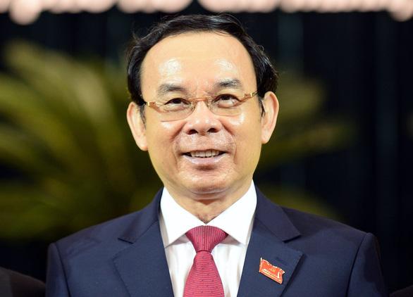 Ông Nguyễn Văn Nên được bầu làm bí thư Thành ủy TP.HCM - Ảnh 1.
