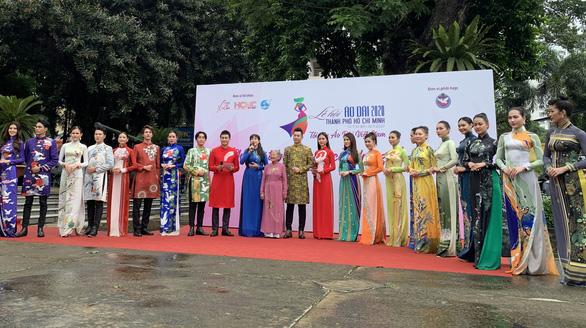 Nghệ sĩ Phi Điểu, Quỳnh Hoa lan tỏa tình yêu áo dài tại các điểm du lịch nổi tiếng - Ảnh 6.