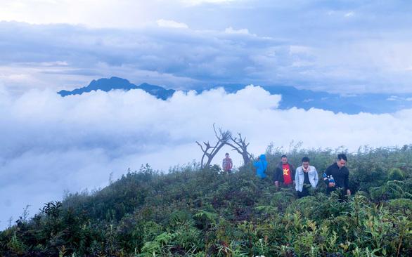 Săn mây ở đỉnh Lảo Thẩn - Ảnh 2.