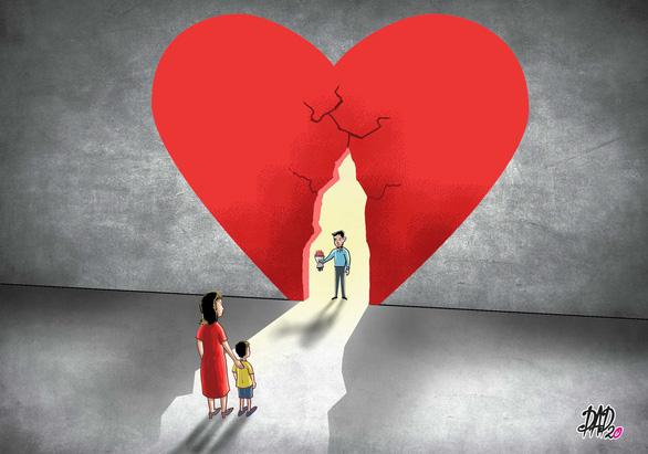 Sau ly hôn, khép con tim lại hay tiếp tục mở lòng? - Ảnh 1.