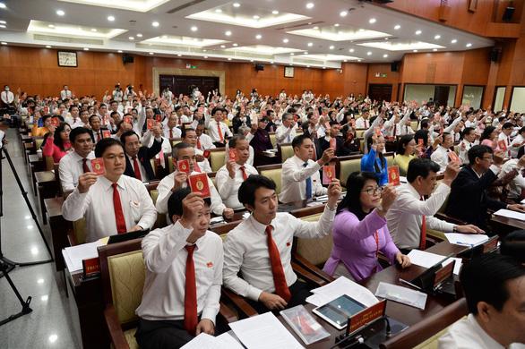 Đại hội Đảng bộ TP.HCM bỏ phiếu bầu Ban chấp hành nhiệm kỳ 2020-2025 - Ảnh 2.