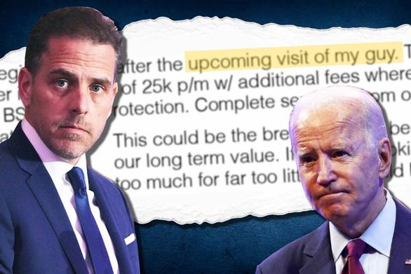 Báo Mỹ khui chuyện làm ăn của cha con Biden tại Trung Quốc - Ảnh 1.