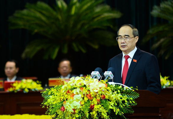 Ông Nguyễn Thiện Nhân cảm ơn Đảng bộ, chính quyền và đồng bào TP.HCM - Ảnh 1.
