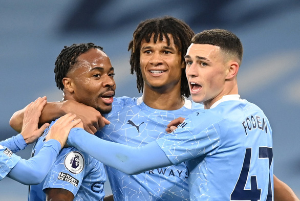 Sterling tỏa sáng, Man City hạ đo ván Arsenal tại Etihad - Ảnh 1.