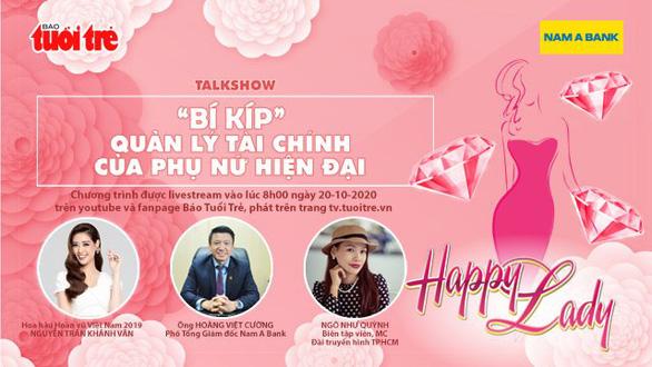 Talkshow Bí kíp quản lý tài chính của phụ nữ hiện đại diễn ra ngày 20/10 - Ảnh 1.