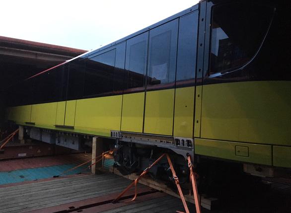 Đoàn tàu metro Nhổn - Hà Nội cập cảng Hải Phòng sớm hơn dự kiến 1 tuần - Ảnh 4.