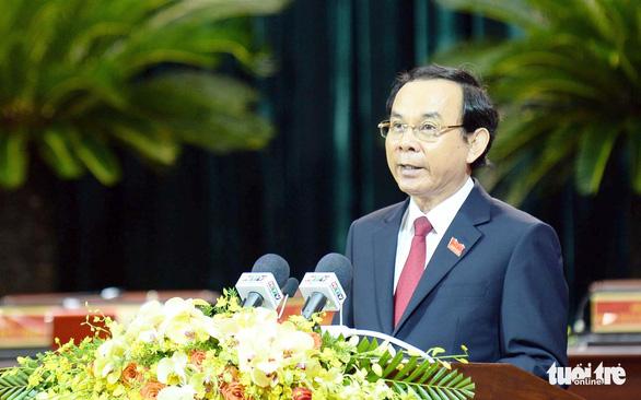 Bí thư Thành ủy Nguyễn Văn Nên kêu gọi đồng tâm hiệp lực xây dựng phát triển TP.HCM - Ảnh 1.