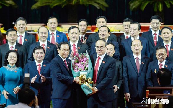 Bí thư Thành ủy Nguyễn Văn Nên kêu gọi đồng tâm hiệp lực xây dựng phát triển TP.HCM - Ảnh 2.