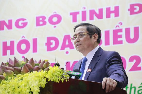 Đại hội Đảng bộ tỉnh Đồng Tháp: Phải kiên trì tạo dựng hình ảnh thuần khiết như hồn sen - Ảnh 1.