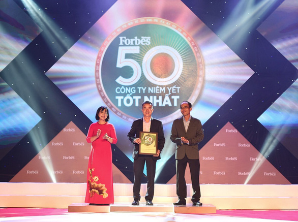 Forbes Việt Nam vinh danh 50 công ty niêm yết tốt nhất 2020 - Ảnh 1.
