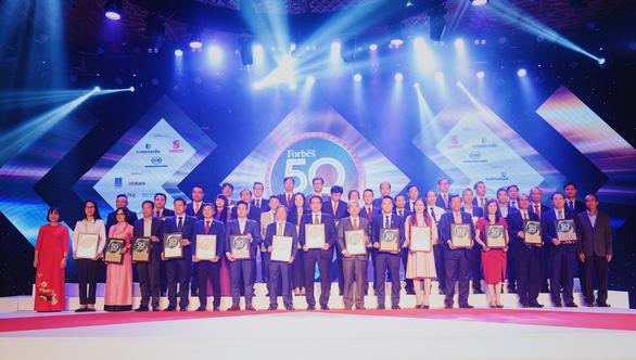 Forbes Việt Nam vinh danh 50 công ty niêm yết tốt nhất 2020 - Ảnh 2.