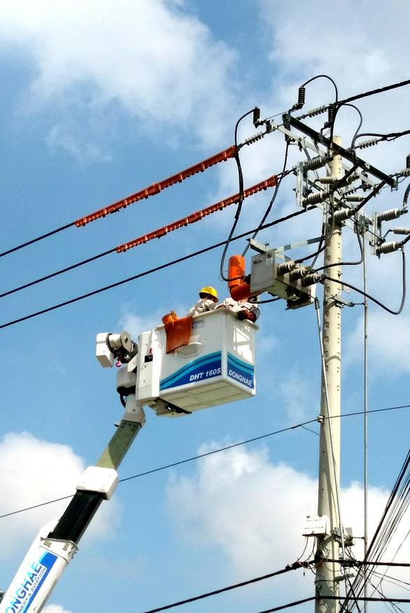 EVNHCMC cấp điện ổn định phục vụ Đại hội Đảng bộ TP.HCM - Ảnh 1.