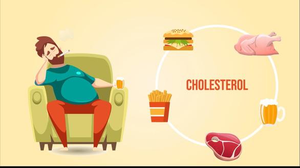 Báo động tình trạng thừa cholesterol đang gây hại sức khỏe - Ảnh 2.