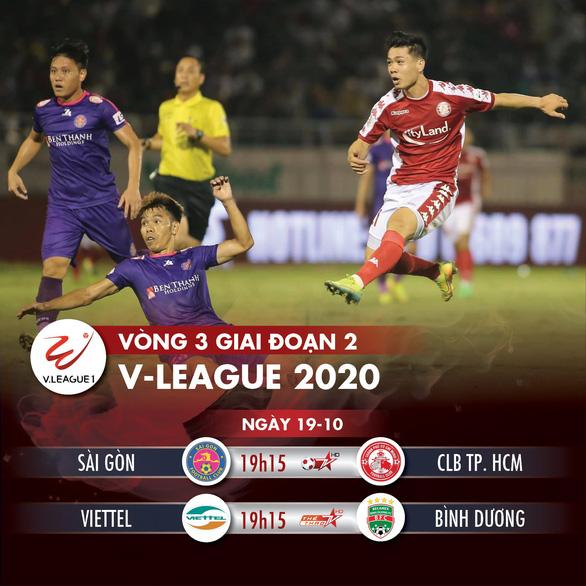 Lịch trực tiếp V-League 2020: Derby Sài Gòn - CLB TP.HCM - Ảnh 1.