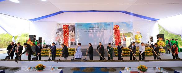 Tập đoàn TH động thổ dự án sữa hơn 2.500 tỷ đồng tại thị trấn biên giới Cao Bằng - Ảnh 1.