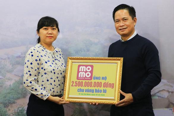 Gần 63.000 lượt người đóng góp ủng hộ người dân vùng lũ qua Ví MoMo - Ảnh 1.