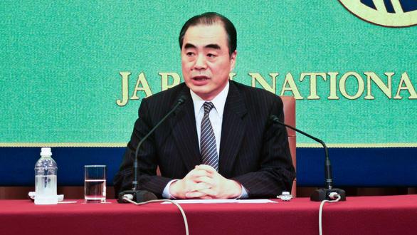 Đại sứ Trung Quốc nhờ vá lành quan hệ Mỹ - Trung trên truyền hình Nhật - Ảnh 1.