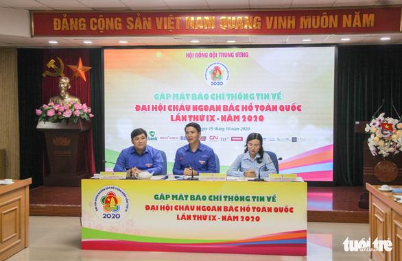 Đài thọ kinh phí để đại biểu vùng lũ dự ĐH Cháu ngoan Bác Hồ toàn quốc - Ảnh 1.