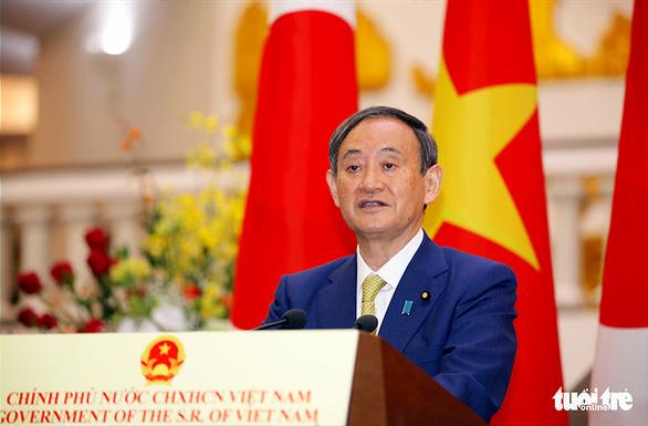 Thủ tướng Suga Yoshihide: Nhật Bản cung cấp vật tư hỗ trợ khẩn cấp cho Việt Nam - Ảnh 1.