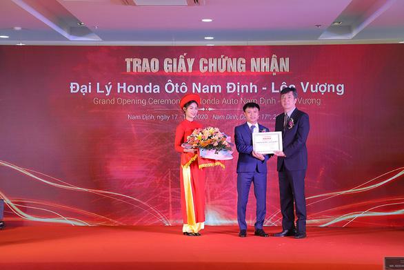Chính thức khai trương Đại lý Honda Ôtô Nam Định - Lộc Vượng - Ảnh 2.