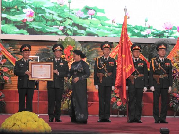 Báo Quân đội nhân dân đón nhận Huân chương Độc lập hạng ba - Ảnh 1.