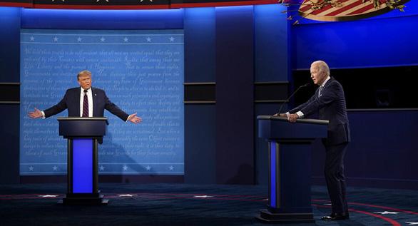 Ông Biden chi tiền vượt ông Trump tại các bang chiến trường - Ảnh 1.