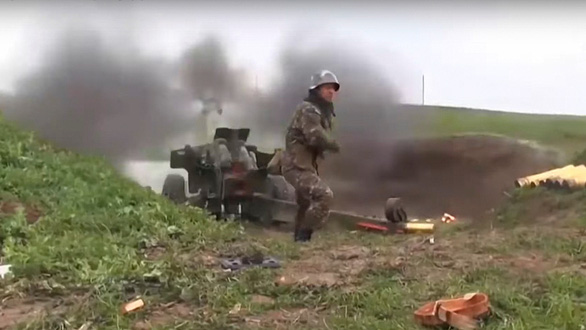Quân đội Armenia báo động chiến đấu, Thổ Nhĩ Kỳ nói không do dự giúp Azerbaijan - Ảnh 2.
