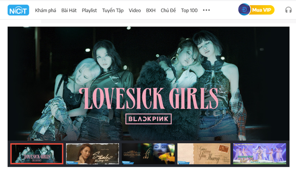 BlackPink tung The Album và Lovesick Girls trên NhacCuaTui - Ảnh 1.