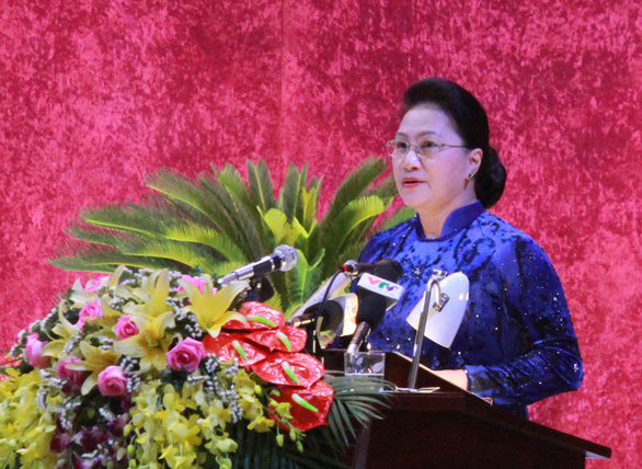 Chủ tịch Quốc hội chỉ ra những khuyết điểm để tỉnh Hòa Bình khắc phục trong nhiệm kỳ tới - Ảnh 1.