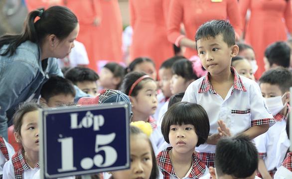 TP.HCM sẽ điều chỉnh việc dạy chương trình lớp 1 mới - Ảnh 1.