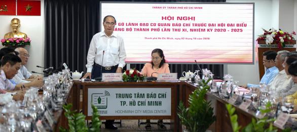 Sẽ có ít nhất 4 buổi họp báo tại Đại hội đại biểu Đảng bộ TP.HCM lần thứ XI - Ảnh 1.