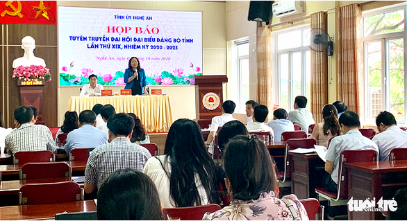 Đại hội Đảng bộ tỉnh Nghệ An sẽ không nhận hoa chúc mừng - Ảnh 1.