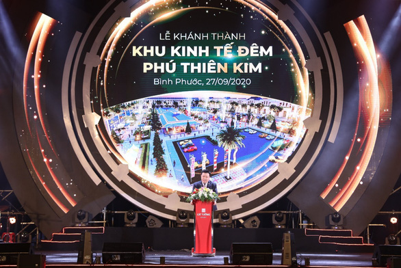 Khánh thành Khu kinh tế đêm Phú Thiên Kim - tỉnh Bình Phước - Ảnh 1.