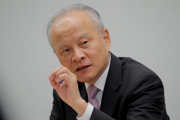 Đại sứ Trung Quốc tại Mỹ tố có thế lực kích động đối đầu Mỹ - Trung - Ảnh 1.