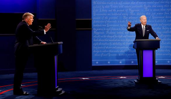 Sẽ có nút im lặng để tránh bị ngắt lời trong tranh luận tổng thống Mỹ 22-10 - Ảnh 1.